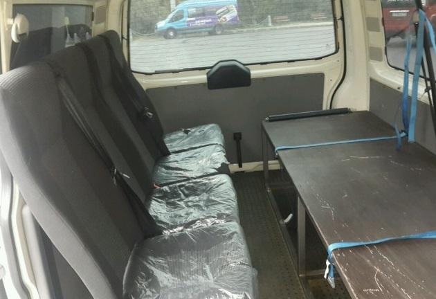 Автобус 5 мест + гроб